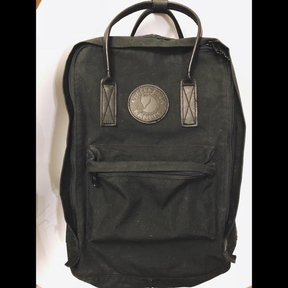 "4fa98f42fa35 Fjallraven Handbags - Fjallraven no. 2 Laptop Backpack (15"") ALL BLACK"